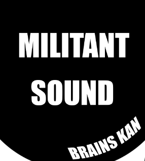 Militant Sound 1-sided 12inch dubplate